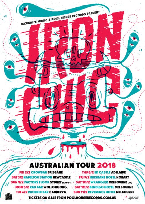Iron Chic Tour Poster