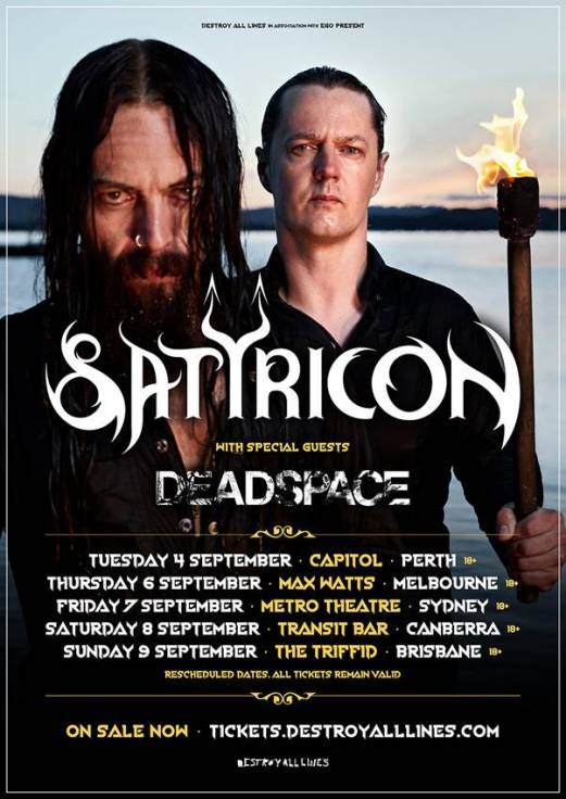 Satyricon Tour Poster Updated