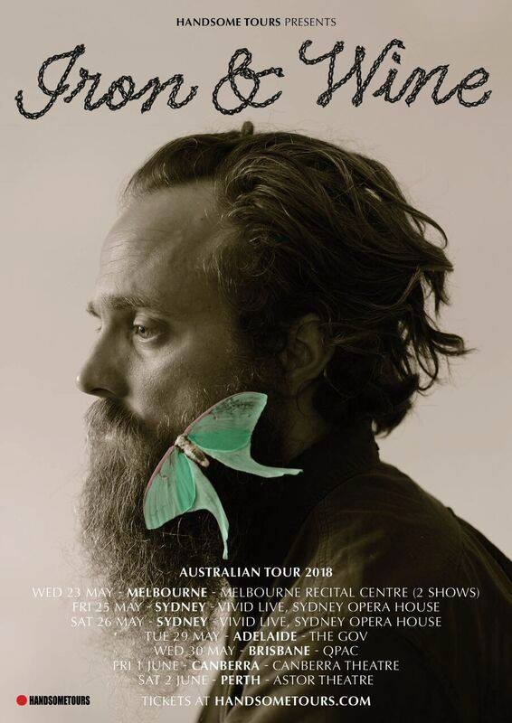 Iron & Wine Tour Poster