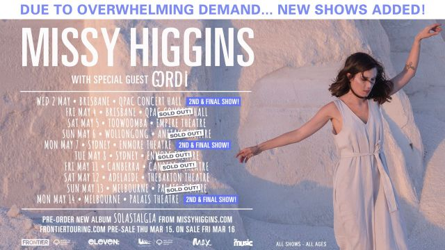 Missy Higgins Tour Banner - Updated