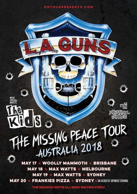 L.A. Guns Tour Poster (Updated)