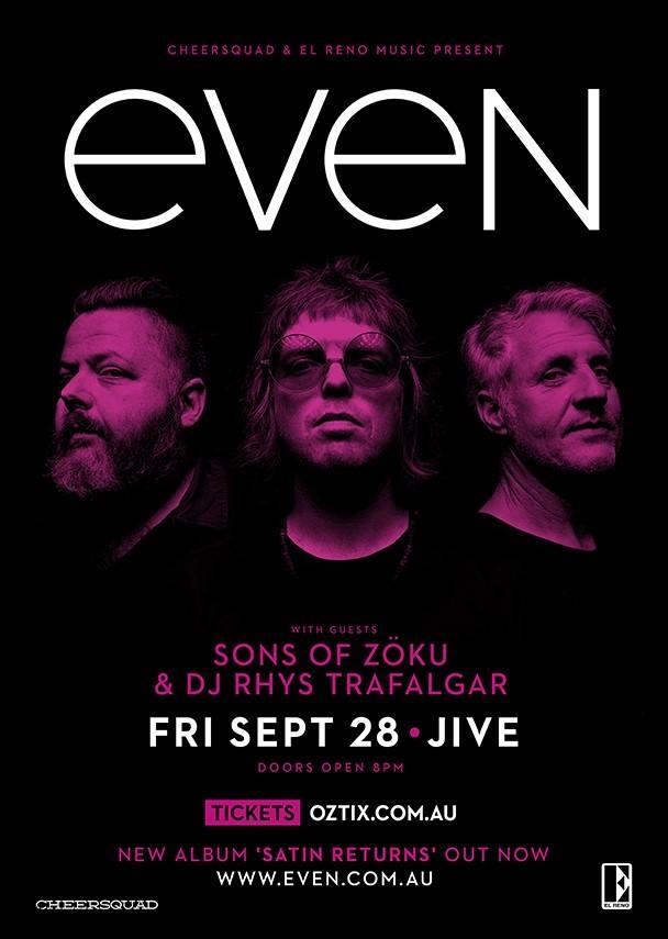 Even - Jive Sept 18
