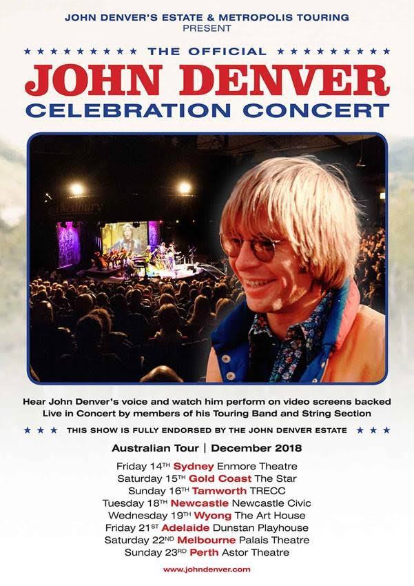 JOhn Denver Celebration Concert Tour Poster