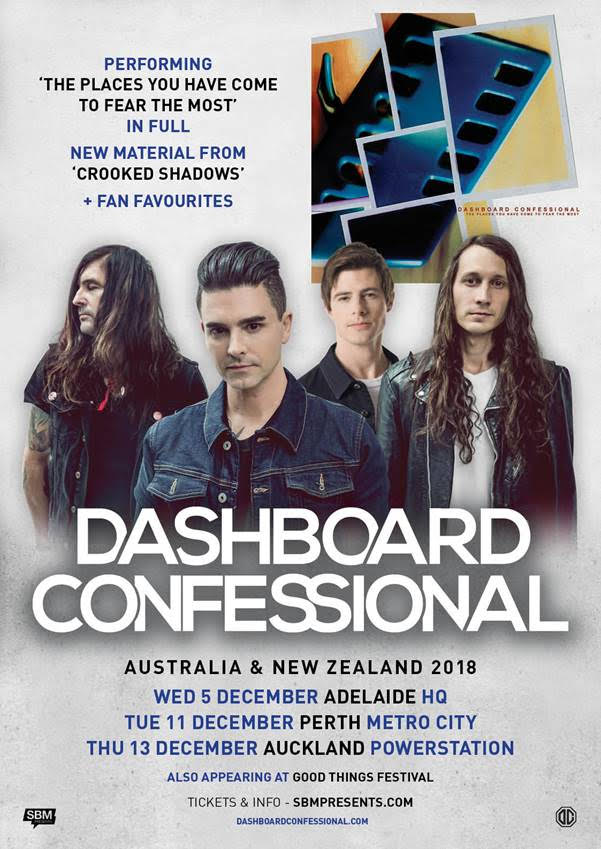 Dashboard Confessional Tour Poster