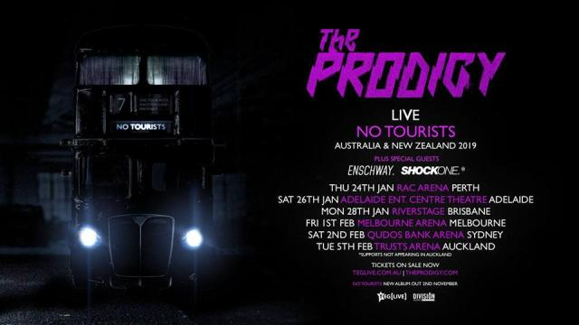 the prodigy tour banner