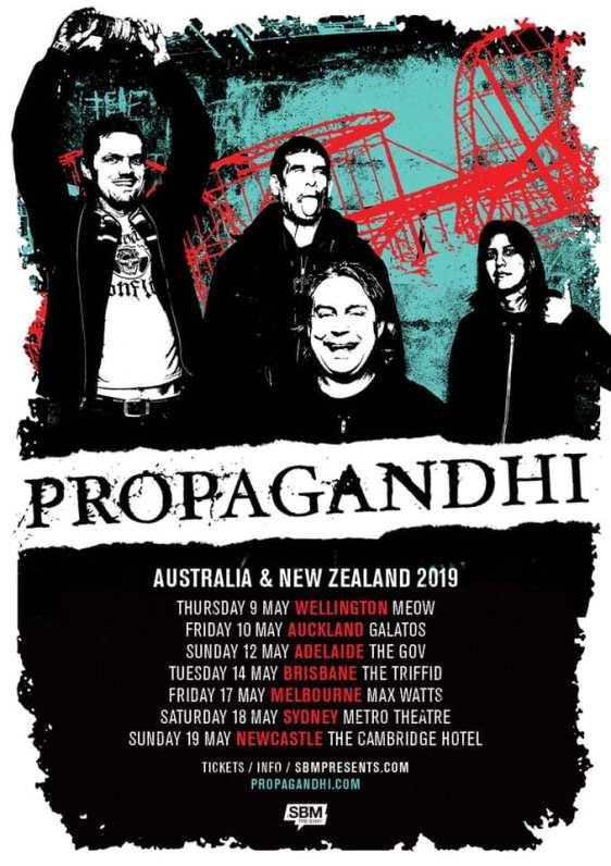Propagandhi Tour Poster