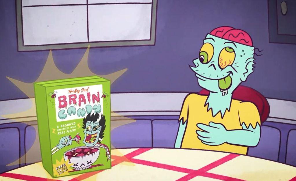 Hockey Dad Launch Brain Candy Breakfast Cereal