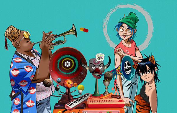 "Gorillaz ""Song Machine: Season One – Strange Timez"" Set For Release"