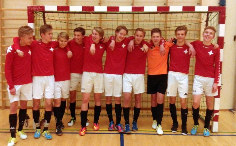 HIFK B - FP99-sarjan (B16) mestarit. 11 peliä 11 voittoa!