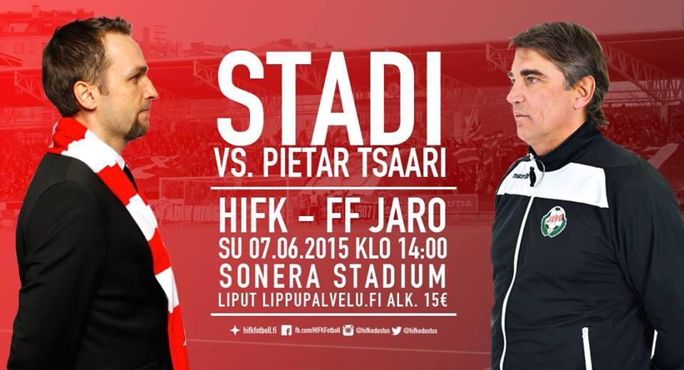 Stadi vs. Pietar Tsaari