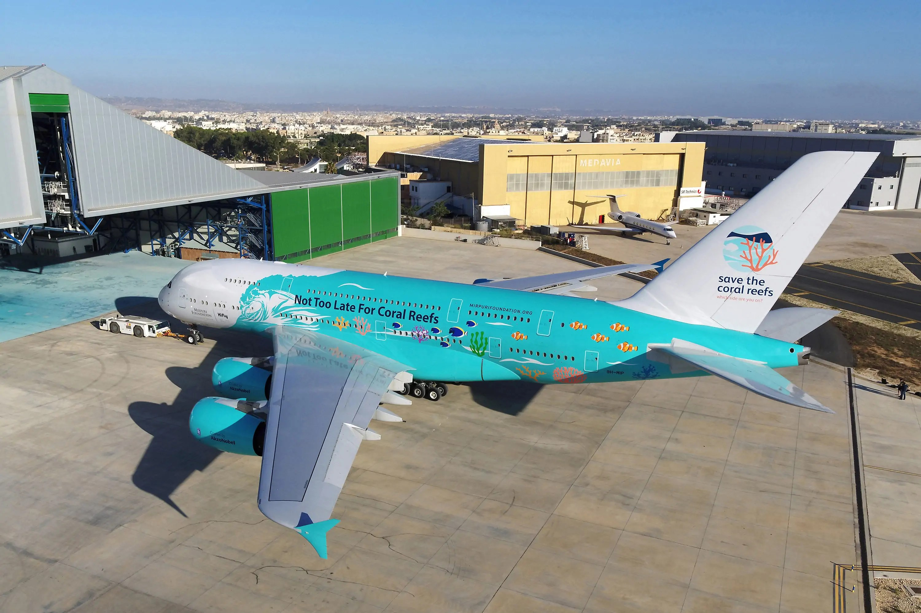 A380 Save The Coral Reefs