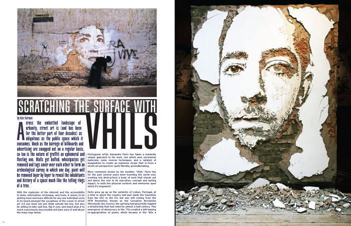 Vhils Sample