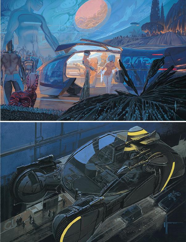 Syd Mead Concept Art : concept, Beloved, Futurist, Hi-Fructose, Magazine