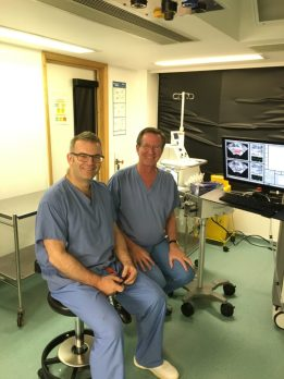 Dr. Pugach & Mark Emberton in London
