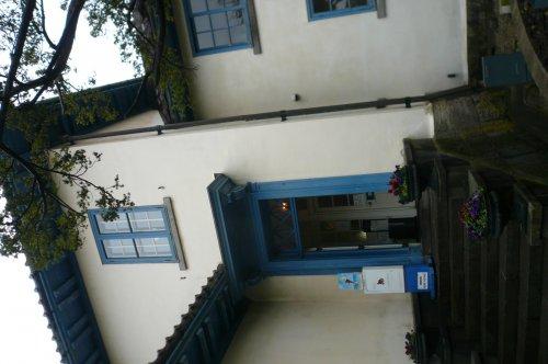旧イギリス領事館の入口