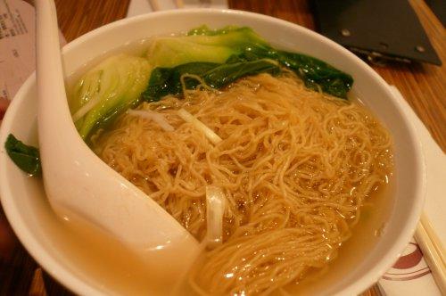 一粥麺のワンタンメン