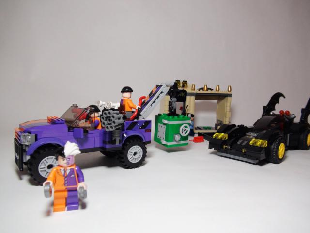 LEGO バットマン バットモービルとトゥーフェイス・チェイス