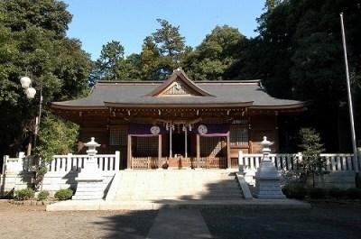 豊鹿島神社社殿