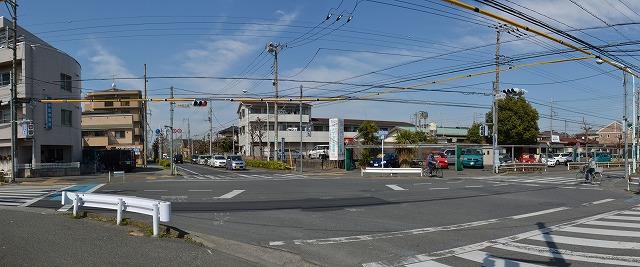 中央通り交差点2