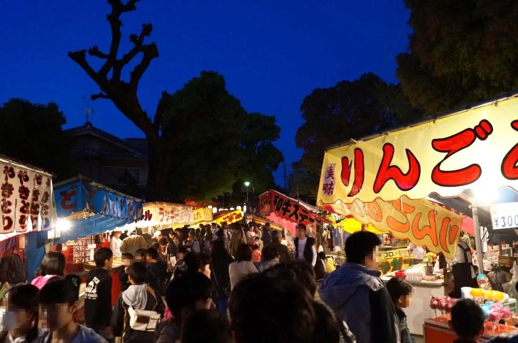 大隅神社 春祭り