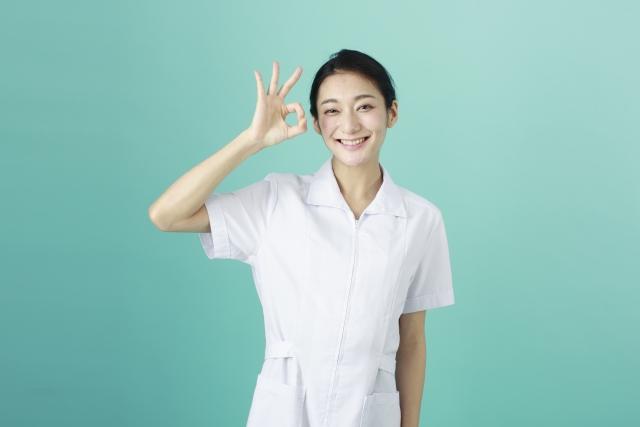 看護師・まる・女性