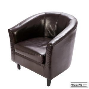 Tub Chair Brown