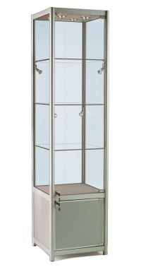 Glass Display Cabinet or Showcase - Higgins.ie