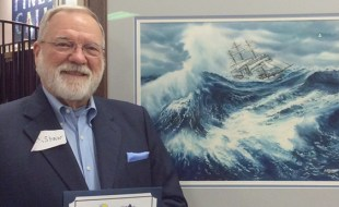 Richard Shaw's Painting Wins Blue Ribbon at San Diego County Fair