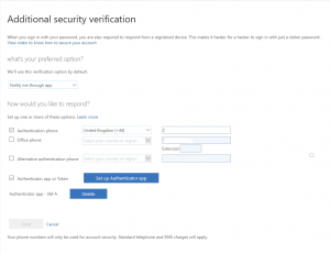 Change the MFA Default Verification Method for a User in
