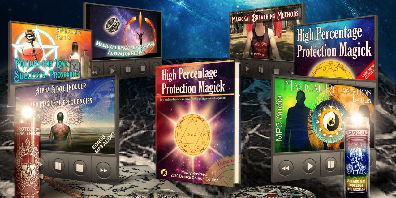 The 1st Choice in Protection Magick – The Deluxe Mastery Course