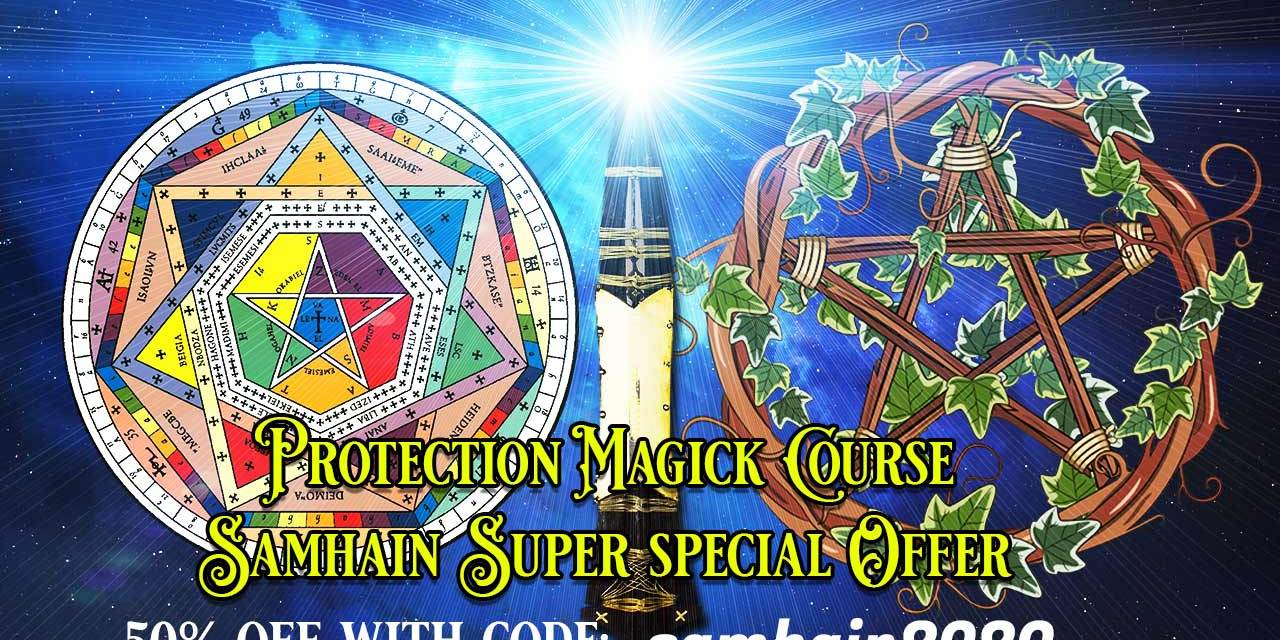 samhain 3 day Limited Time sale – EFFECTIVE PROTECTION MAGICK