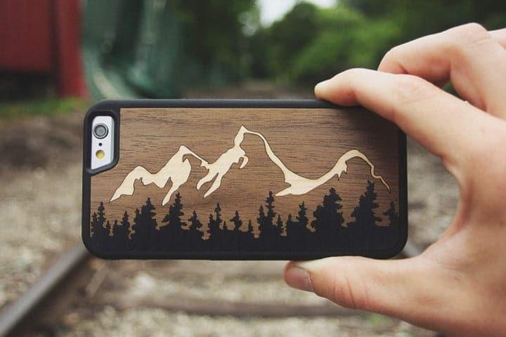 coque en bois iphone 7
