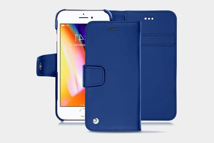Etui portefeuille iphone 8