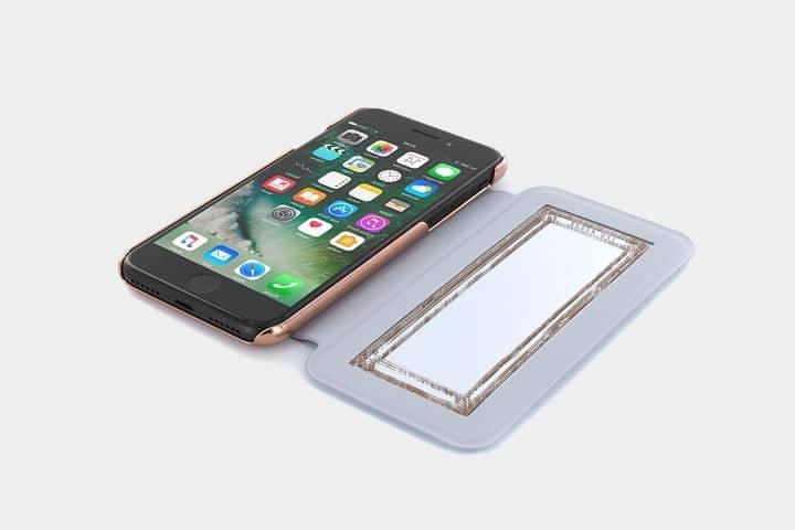coque miroir iphone 8