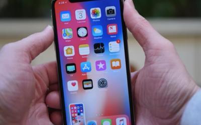 Capture d'écran iphone x