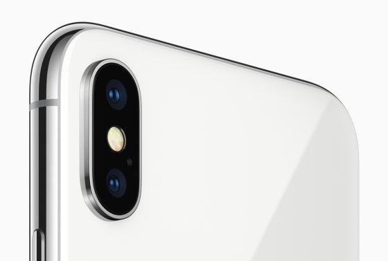 caméra iphone x