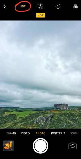 tuto prise de photo paysage avec un iphone x hdr