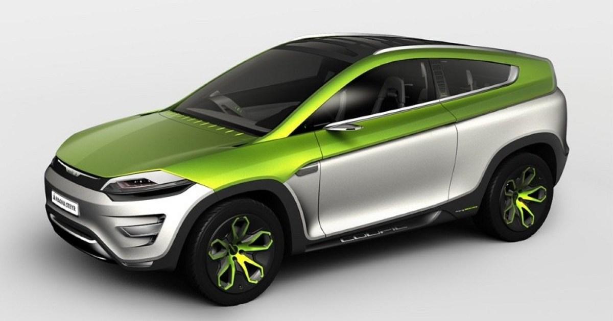 Magna Steyr concept car