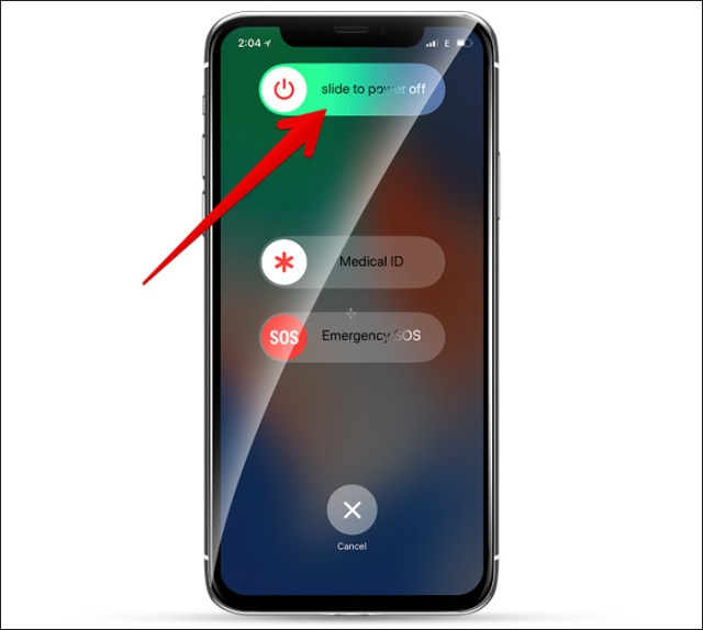 la meilleure façon d'eteIndre son iphone x xs max xr
