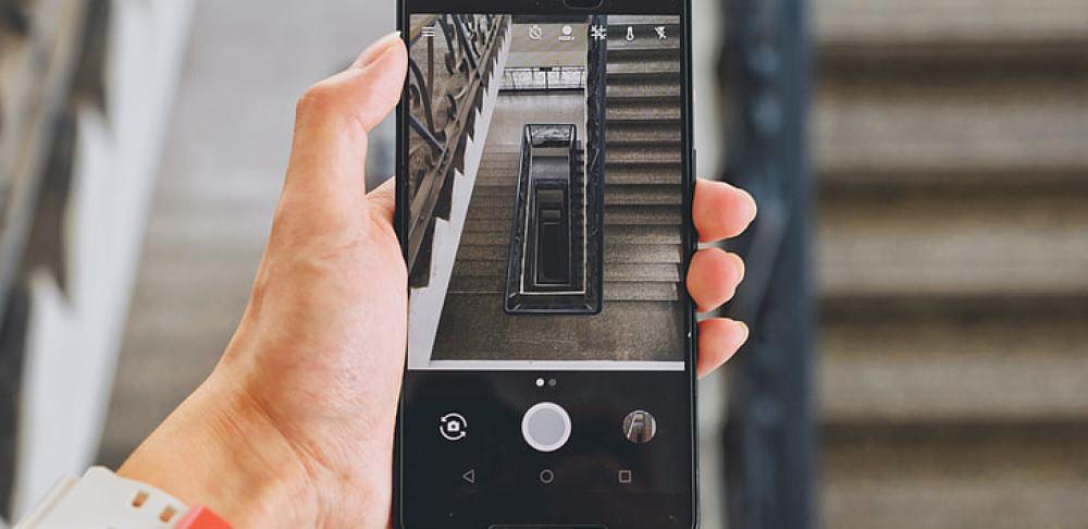 prendre photo avec smartphone