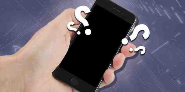 Comment allumer un iPhone qui reste bloqué sur la pomme ?