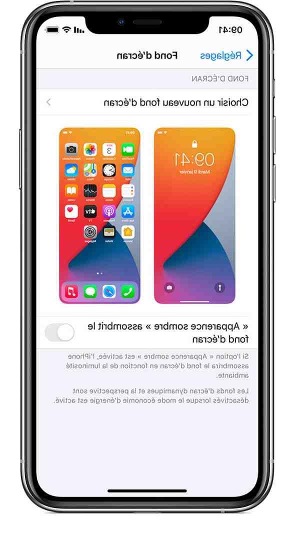 Comment avoir plusieurs Fond d'écran iPhone ?