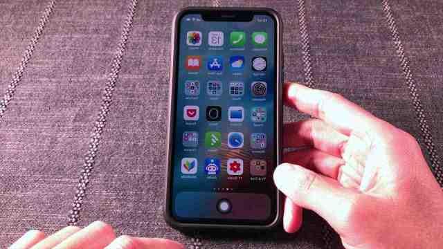 Comment enlever le bouton virtuel sur iPhone ?