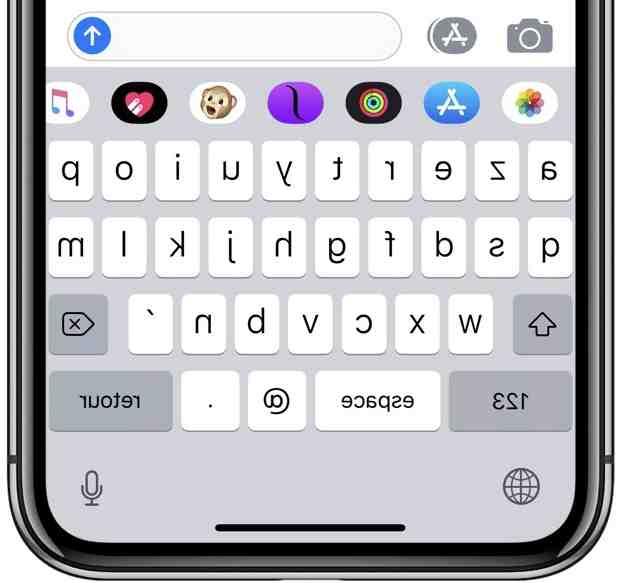 Comment grossir les lettre du clavier iPhone ?