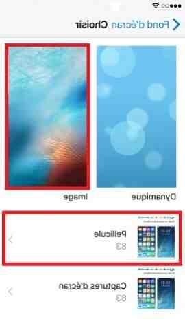 Comment mettre une image en fond d'écran sur iPhone ?