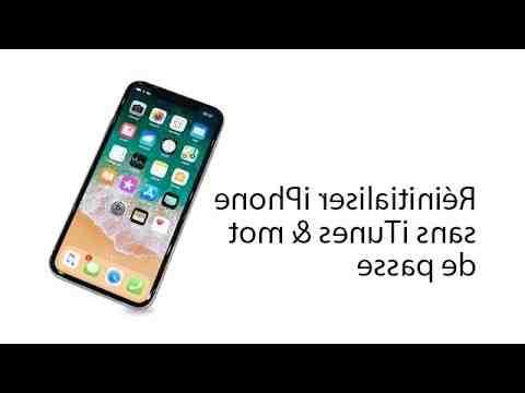 Comment remettre un iPhone 5s en mode usine ?