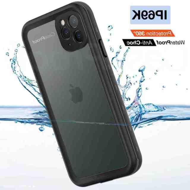 Est-ce que les iPhone XR sont waterproof ?