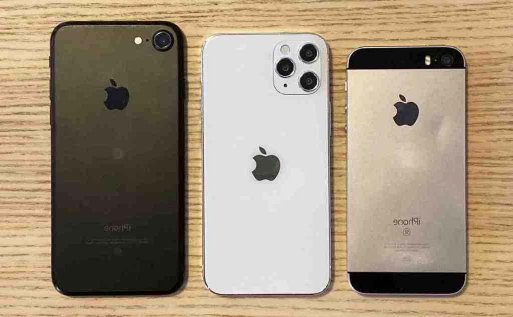 Iphone 12 mini hauteur