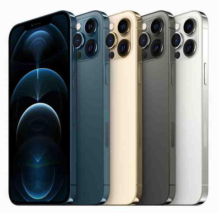 Iphone 12 pro max avec trois