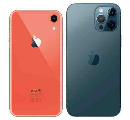 Iphone 12 pro max contre iphone xr